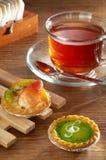 Chá elevado Imagens de Stock Royalty Free