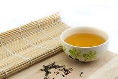 Chá em um copo Foto de Stock