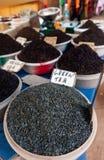 Chá em um mercado Foto de Stock