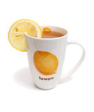 Chá em uns copos e em um limão foto de stock royalty free