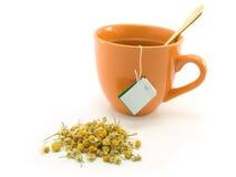 Chá erval e camomila Imagens de Stock