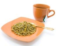 Chá erval e camomila Fotografia de Stock