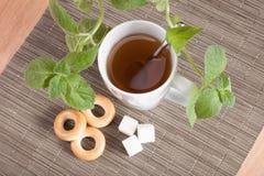 Chá flavored hortelã Foto de Stock