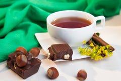 Chá floral Foto de Stock Royalty Free