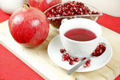 Chá fresco da romã Imagem de Stock Royalty Free