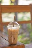 Chá gelado com leite Fotos de Stock Royalty Free