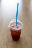 Chá gelado na tabela de madeira Foto de Stock Royalty Free