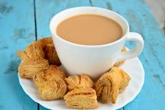 Chá indiano foto de stock