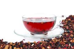 Chá isolado no branco Imagem de Stock Royalty Free