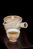 Chá japonês imagens de stock