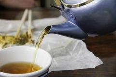 Chá japonês Imagem de Stock Royalty Free