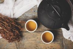 Chá japonês tradicional Foto de Stock