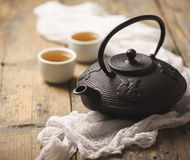 Chá japonês tradicional Foto de Stock Royalty Free
