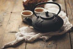 Chá japonês tradicional Imagens de Stock Royalty Free