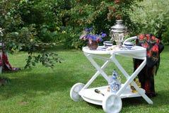 Chá junto Fotografia de Stock