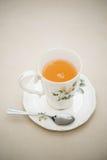Chá, lanche fotografia de stock royalty free