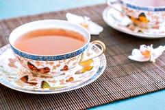 Chá no bambu Foto de Stock Royalty Free