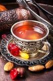 Chá no estilo árabe Imagem de Stock Royalty Free