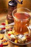 Chá no estilo árabe Fotografia de Stock