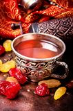 Chá no estilo árabe Imagem de Stock