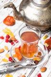 Chá no estilo árabe Fotografia de Stock Royalty Free
