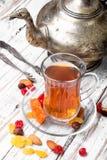 Chá no estilo árabe Imagens de Stock Royalty Free