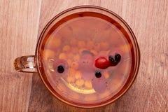 Chá no vidro Imagens de Stock