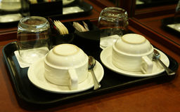 Chá ou café Imagens de Stock