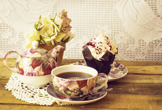 Chá para um Fotografia de Stock Royalty Free