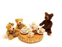 Chá-partido Foto de Stock Royalty Free