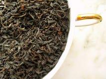 Chá - preto Imagens de Stock Royalty Free