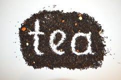 Chá preto com tomilho adicionado fotos de stock