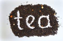 Chá preto com tomilho adicionado foto de stock royalty free