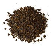 Chá preto cru imagem de stock