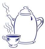 Chá quente Ilustração Stock