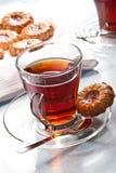Chá quente fotografia de stock
