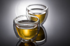 Chá quente de Hearbal Imagem de Stock