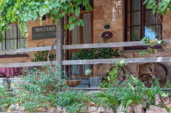 Chá Rose Cottage - Mintaro imagens de stock royalty free