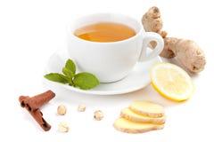 Chá saudável do gengibre Fotografia de Stock Royalty Free