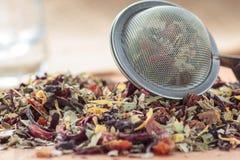 Chá secado da cereja Imagem de Stock