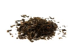 Chá secado de Ivan isolado no fundo branco fotografia de stock royalty free