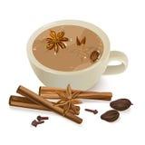 Chá temperado ilustração do vetor