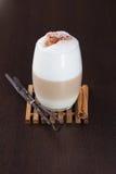Chá temperado Latte de Chai imagem de stock royalty free