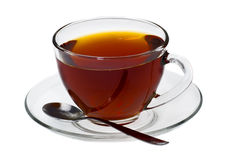 Chá transparente do copo Imagens de Stock Royalty Free
