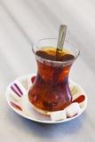 Chá turco Fotografia de Stock