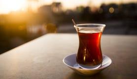 Chá turco Imagem de Stock