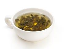 Chá verde. Imagem de Stock