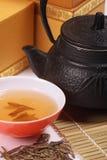 Chá verde Foto de Stock
