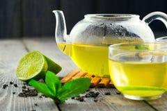 Chá verde Imagens de Stock Royalty Free