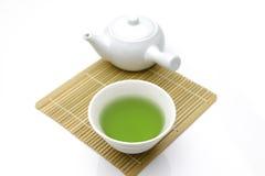 Chá verde de Jananese Fotografia de Stock Royalty Free